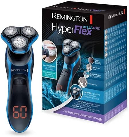 rasoir electrique remington hyperflex